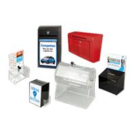 Ideenbriefkasten/Spenden Sammelbox