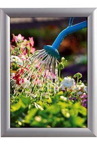 Alu Snap-Frame WatersafeWand, 25 mm, Silber