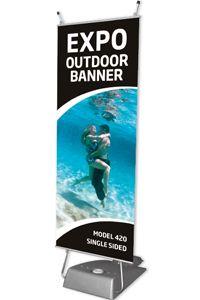 Expo Outdoor Banner, einseitig
