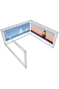 Truss U-Shape 5 x 5 - White