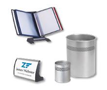 Schreibtischmaterialien