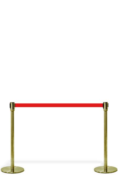 Crowd Controle Belt - Gold Personenleitsystem