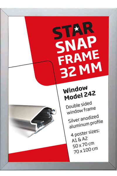 Double Sided Window Frame 32 mm