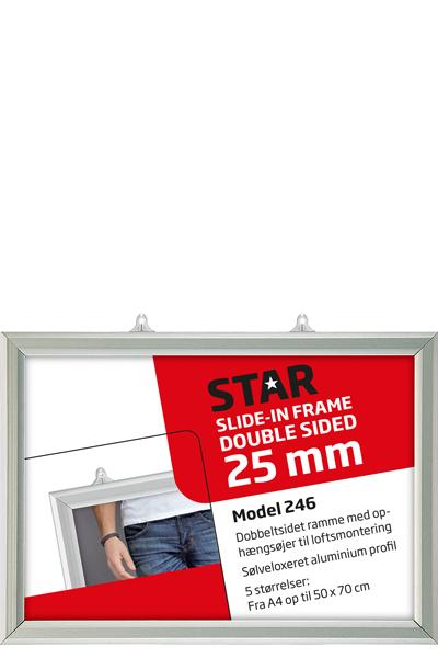 SLIDE-IN FRAME HORIZONTAL 25 mm