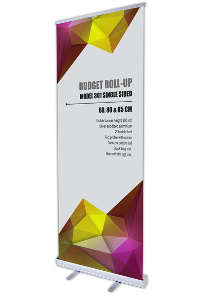 Budget Roll-up,single sided