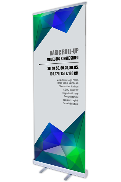 Basic Roll-Up, einseitig