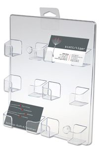 Cardholder Wall x 6 Wand-Visitenkartenhalter