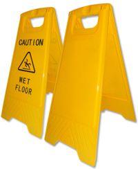 """Caution Board Warnschild """"Achtung Rutschgefahr"""""""
