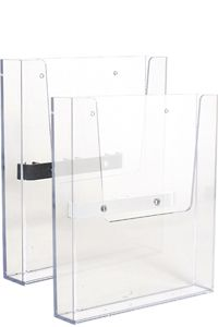 Crown Truss, Brochure dispenser A4