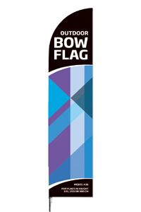 Outdoor Bow Flag