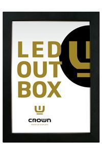CROWN LED Out BoxDouble Sided