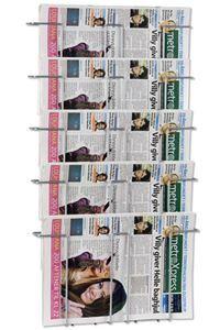 Newspaper Wall 5 Wand-Zeitungshalter