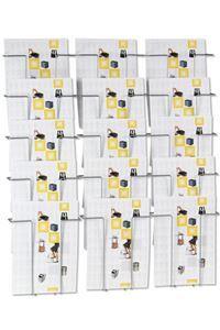 Wall 15 Brochureholder Wand-Prospekthalter