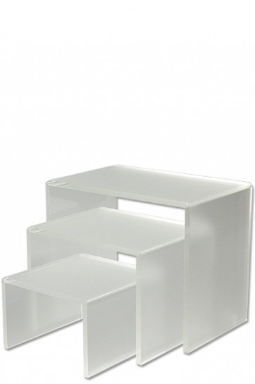 Nesting Shelves x 3. BIG, Matt