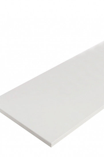 CROWN Truss Counter top plate, 125x65cm - White