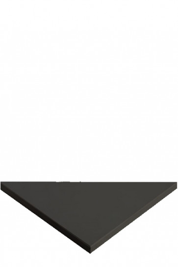 CROWN Truss Counter top plate, 95x95cm Triangle