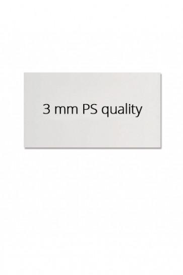 Logoplatte 62,5x29,8cm für Estate Sign 65x101cm. Polystyrol