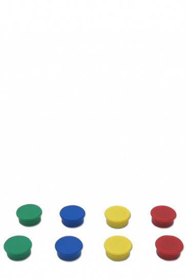 Magnete für z.B. Whiteboards 8 Stück im Set