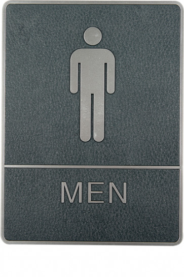 Icon Sign with Text - Men