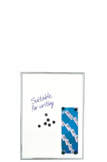 WHITEBOARD Schreibbar und Magnetisch 9mm. 4xA4 Alu