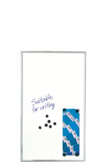 WHITEBOARD Schreibbar und Magnetisch 9mm. 6xA4 Alu