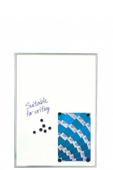 WHITEBOARD Schreibbar und Magnetisch 9mm. 9xA4 Alu