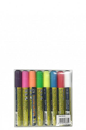 Board Marker 6mm Satz m/8 Farben