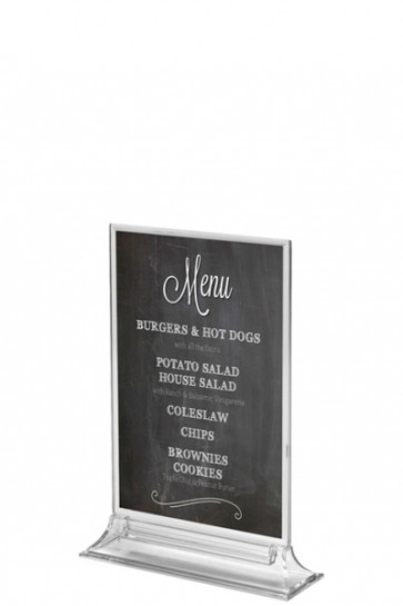 UPRIGHT  MENU HOLDER Vertical A6