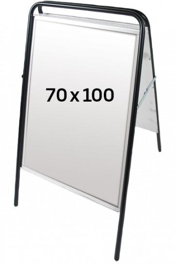EXPO SIGN Kundenstopper 70x100 schwarz