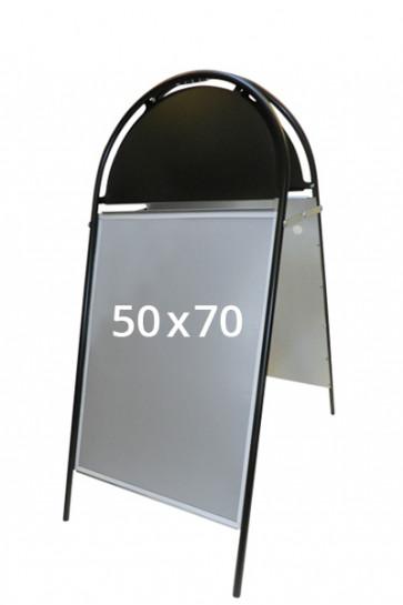 GOTIK Budget Straßenständer 50x70cm schwarz