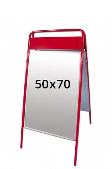 EXPO SIGN Kundenstopper 22mm 50x70cm OT Rot