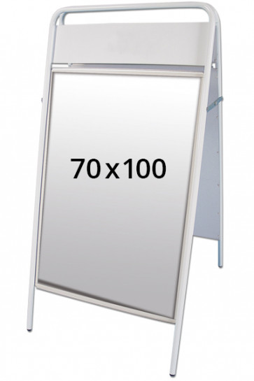 EXPO SIGN Kundenstopper 22mm 70x100cm OT weiss