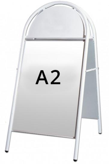 EXPO GOTIK Straßenständer 25mm  A2 weiß