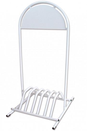EXPO GOTIK Fahrradständer 25mm weiß