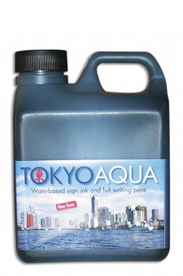 TOKYO AQUA Schildertinte 1 ltr. Schwarz