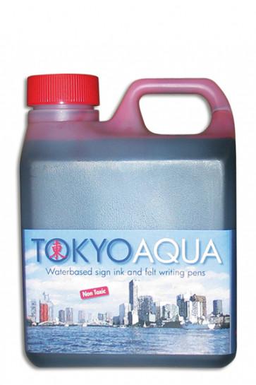 TOKYO AQUA Schildertinte 1 ltr. Rot
