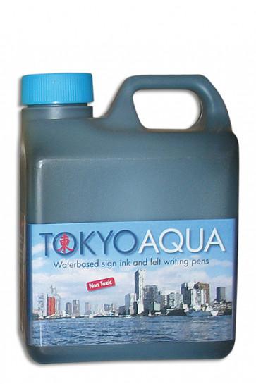 TOKYO AQUA Schildertinte 1 ltr. Blau
