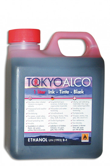 TOKYO ALCO Schildertinte Rot