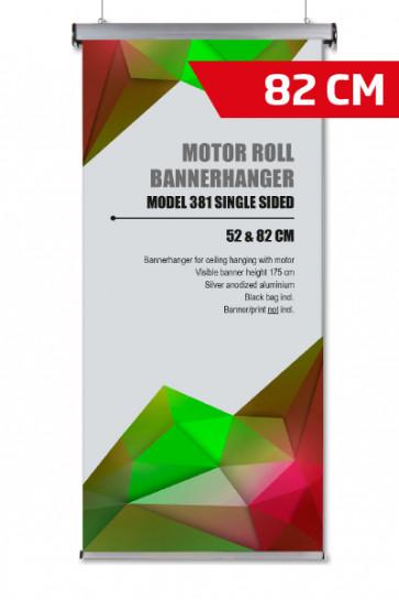 Motor Roll Bannerhanger, Modell 82cm - alu