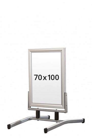 WIND-LINE LUX Straßenständer 45mm (G) 70x100cm alu