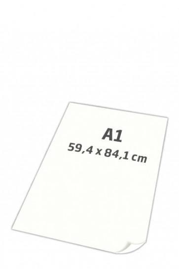 POSTER-PAPIER superglatt 100gr A1 weiß, 250 Blatt