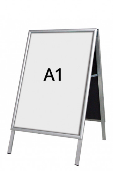ALU-LINE Budget Kundenstopper 25mm A1 (G) ALU