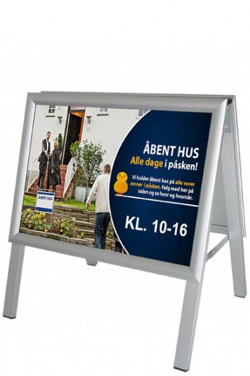ALU-LINE Kundenstopper 25mm , A3 Horisontal (G), ALU