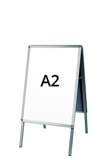 ALU-LINE Kundenstopper 32mm A2 (R) ALU