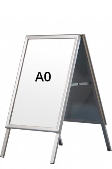 ALU-LINE Kundenstopper 32mm A0 (G) ALU