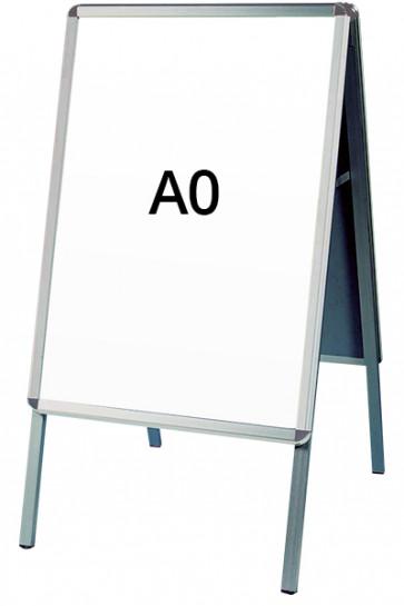 ALU-LINE Kundenstopper 32mm A0 (R) ALU