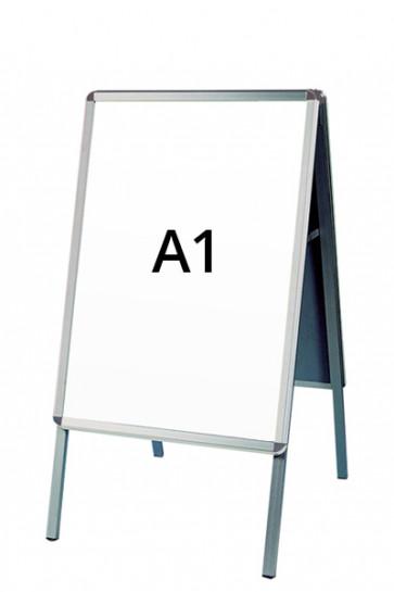 ALU-LINE Kundenstopper 32mm A1 (R) ALU