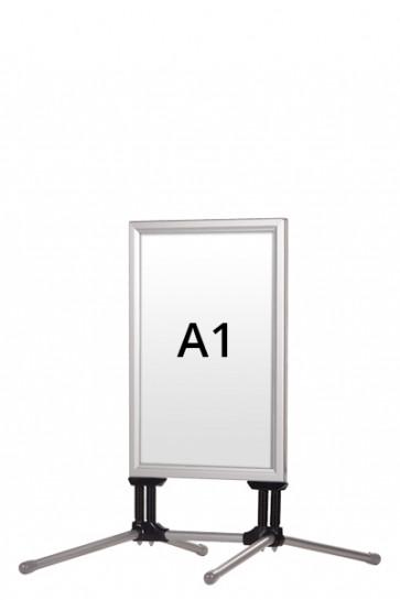 WIND-LINE BUDGET Kundenstopper 40mm (G) A1 alu