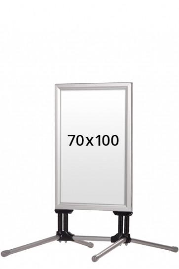WIND-LINE BUDGET Kundenstopper 40mm (G) 70x100cm alu