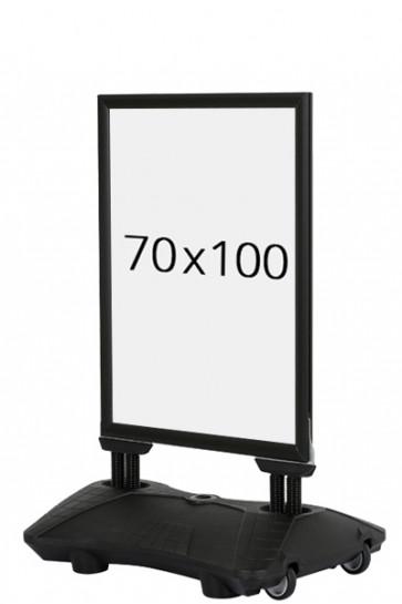 WIND-PRO Waterbase 33mm (G) 70x100cm - schwarz